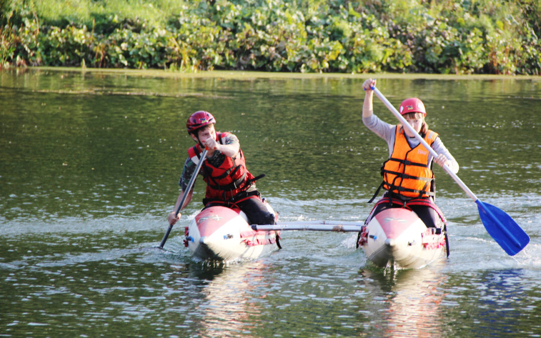 A Can-Do Attitude… And Maybe a Kayak